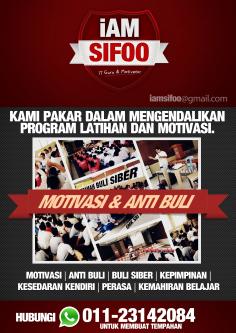 PROGRAM MOTIVASI & ANTI BULI